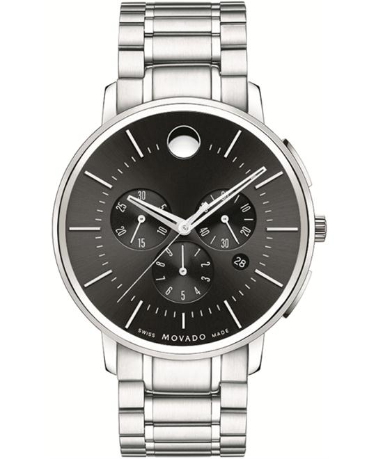 Movado TC Ultra-Thin Chronograph Watch 42mm
