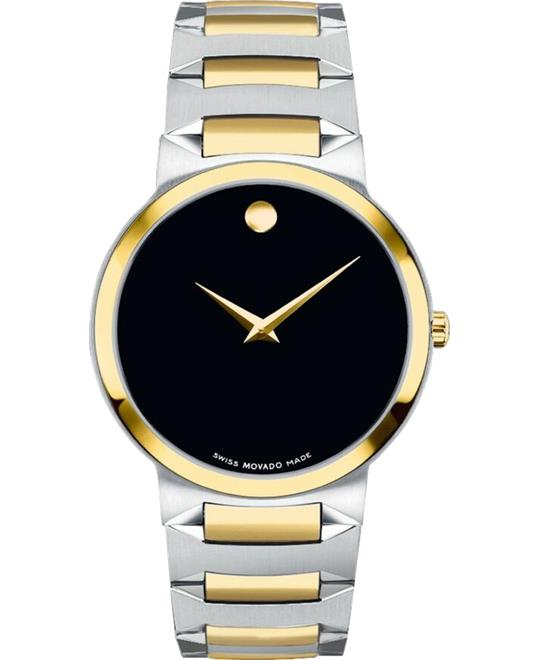 Movado Temo Black Men's Watch 39mm