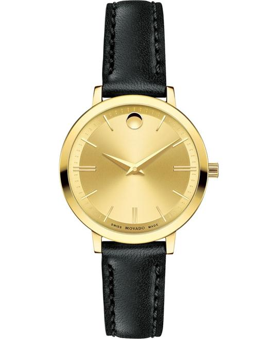 MOVADO ULTRA SLIM WATCH 28MM