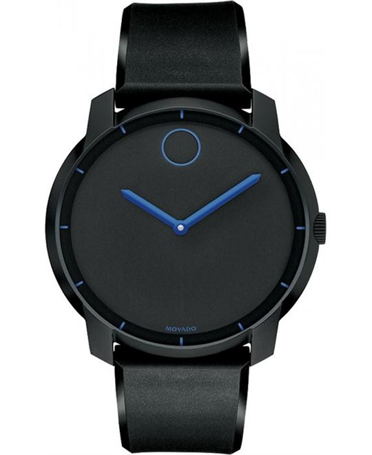 Movado Bold Unisex Swiss Polyurethane Watch 44mm