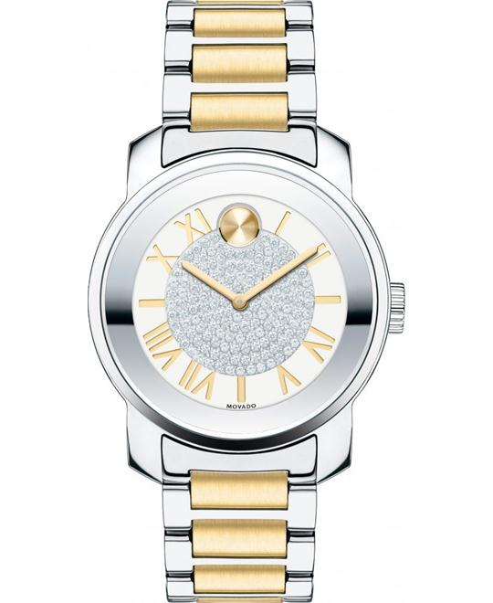 Movado Bold Two-Tone Unisex Watch 32mm