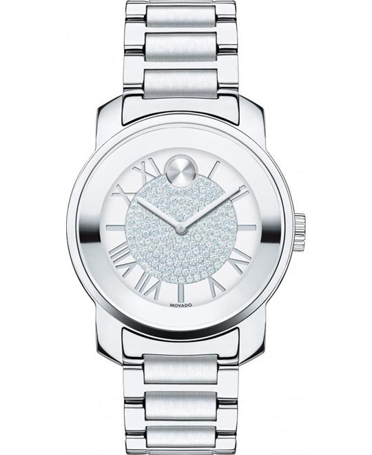 Movado Bold Women's Swiss Bracelet Watch 32mm