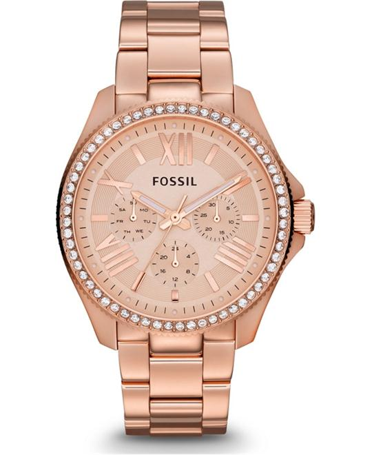 Multifunction Bracelet Watch, 40mm Rose Gold