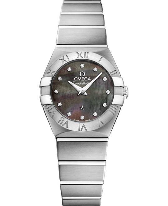 Omega Constellation 123.10.24.60.57.003 Watch 24mm