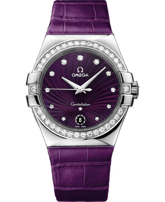 đồng hồ nữ Omega Constellation 123.18.35.60.60.001 Watch 35mm