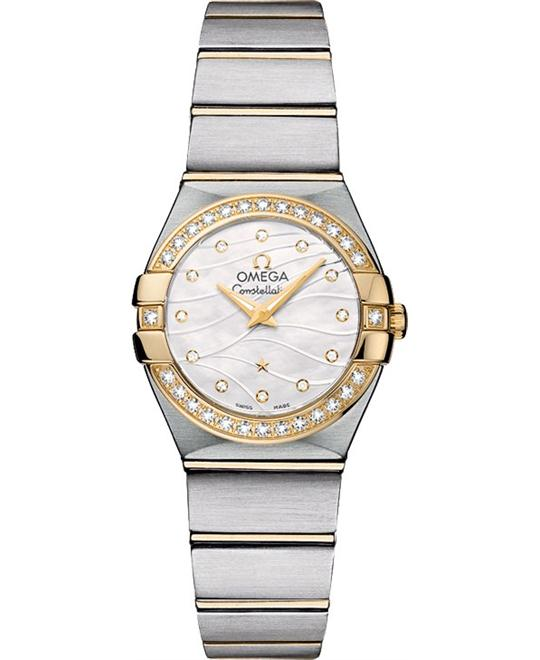 Omega Constellation 123.25.24.60.55.011 Watch 24mm