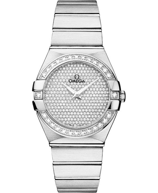 dong ho nu Omega Constellation 123.55.27.60.99.001 Watch 27mm