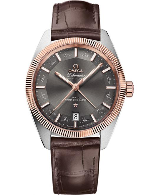 đồng hồ nam automatic Omega Globemaster 130.23.41.22.06.001 Co‑Axial Master 39mm