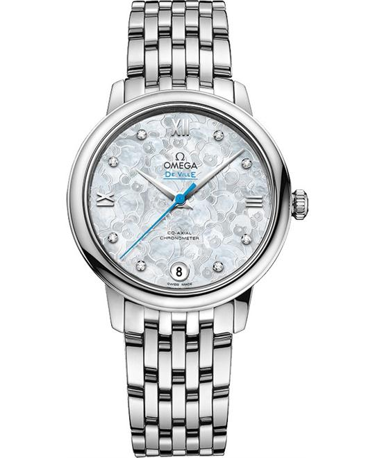 Omega DeVille Prestige 424.10.33.20.55.004 Watch 32.7mm