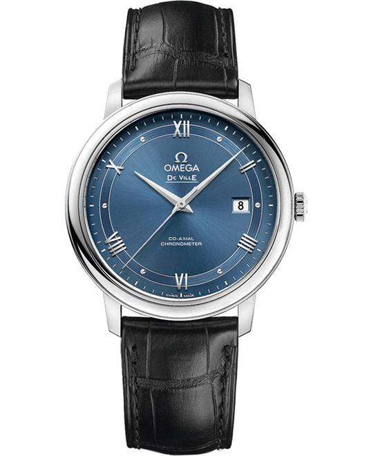 OMEGA 424.13.40.20.03.002 De Ville Prestige Watch 39.5mm
