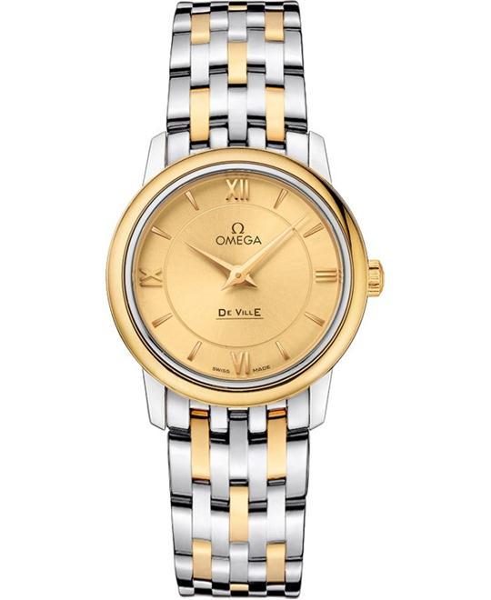 Omega De Ville Prestige 424.20.27.60.08.001 Watch 27.4mm