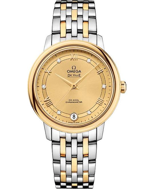 Omega 424.20.33.20.58.002 De Ville Prestige Watch 32.7mm