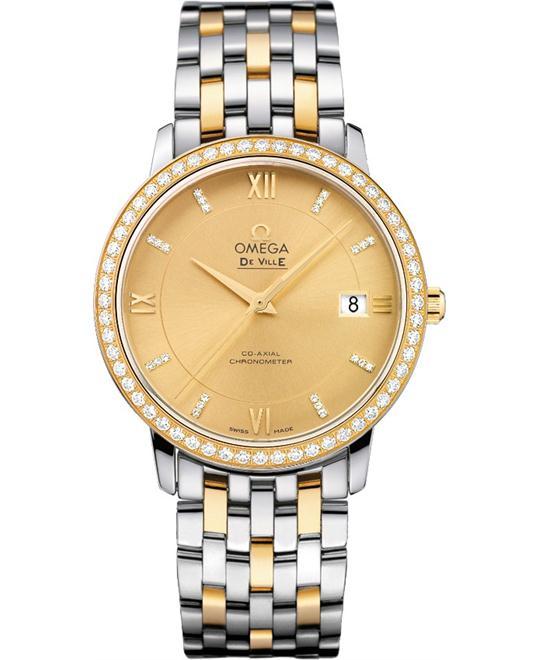đồng hồ Omega 424.25.37.20.58.001 De Ville Prestige Watch 36.8mm