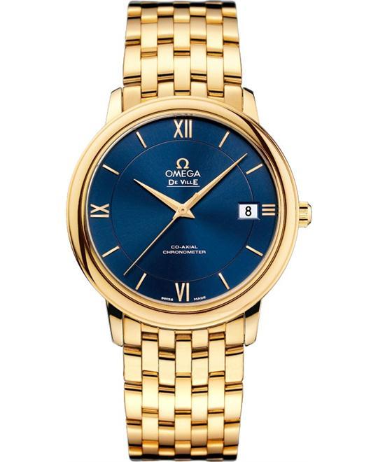 Omega DeVille Prestige 424.50.37.20.03.001 Watch 36.8mm