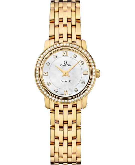 đồng hồ Omega 424.55.24.60.55.001 De Ville Prestige Watch 24.4mm