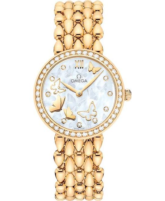 đồng hồ Omega 424.55.27.60.55.005 DeVille Prestige Ladies Watch 27.4mm