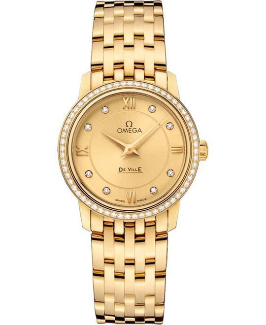 dong ho nữ Omega De Ville 424.55.27.60.58.001 Prestige Watch 27.4mm