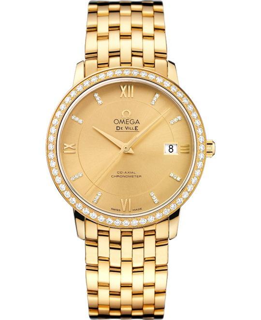 dong ho nam Omega 424.55.37.20.58.001 De Ville Prestige Watch 36.8mm