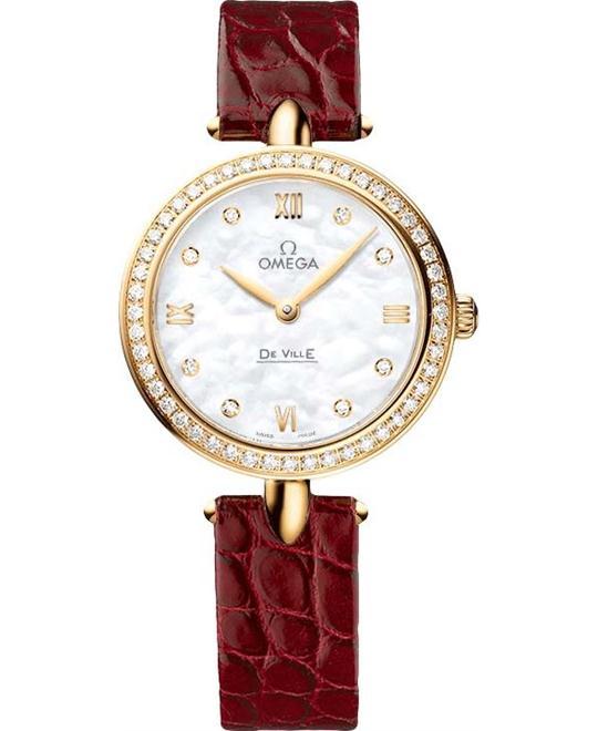đồng hồ Omega 424.58.27.60.55.001 De Ville Prestige Watch 27.4mm