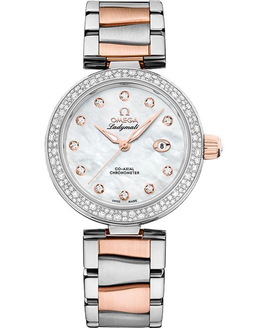 đồng hồ nữ Omega De Ville 425.25.34.20.55.004 Ladymatic 34mm
