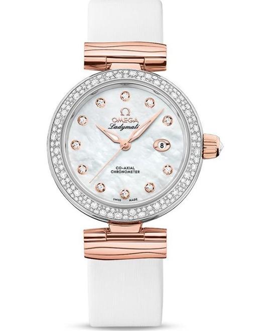 đồng hồ nữ Omega De Ville 425.27.34.20.55.004 Ladymatic 34mm