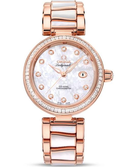 đồng hồ nữ OMEGA De Ville 425.65.34.20.55.007 Ladymatic 34mm