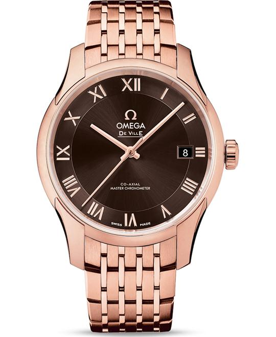 Omega 433.50.41.21.13.001 De Ville Hour Vision Watch 41mm