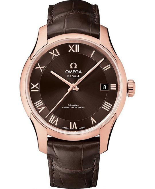 Omega De Ville 433.53.41.21.13.001 Hour Vision Watch 41mm