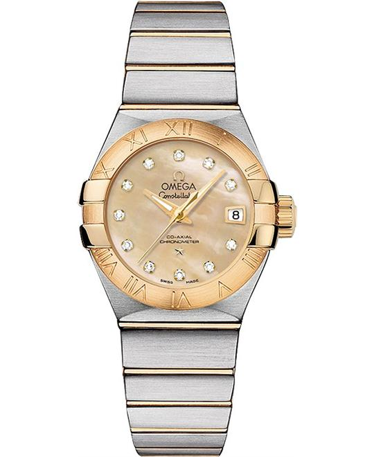 Omega Constellation 123.20.27.20.57.002 Co‑Axial 27