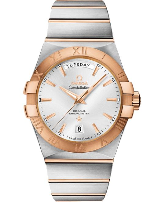Omega Constellation 123.20.38.22.02.001 Co‑Axial 38