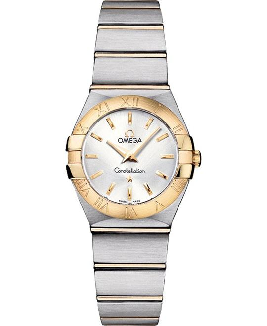 Omega Constellation 123.20.24.60.02.002 Brushed 24mm