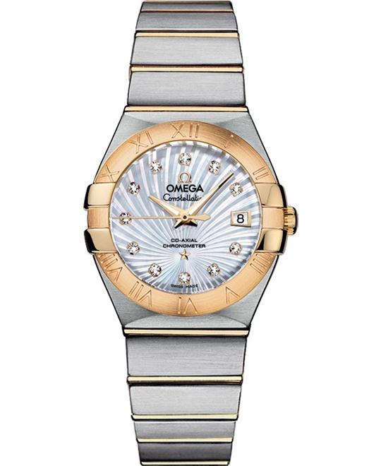 Omega Constellation 123.20.27.20.55.002 Co‑Axial 27