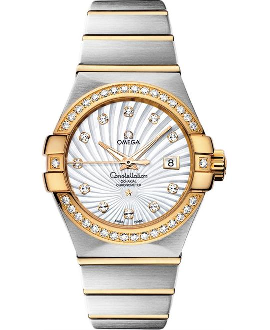 Omega Constellation 123.25.31.20.55.002 Co‑Axial 31mm