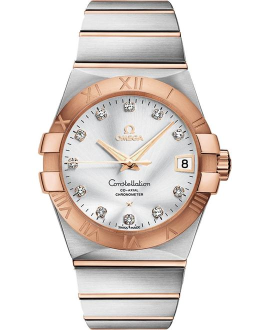 Omega Constellation 123.20.38.21.52.001 Co‑Axial 38