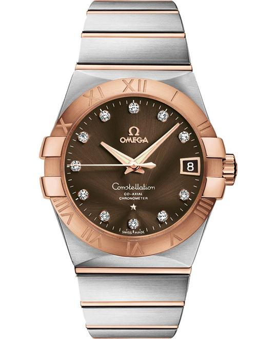 Omega Constellation 123.20.38.21.63.001 Co‑Axial 38
