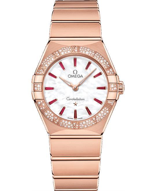 đồng hồ nữ OMEGA CONSTELLATION 131.55.28.60.55.004 MANHATTAN 28mm