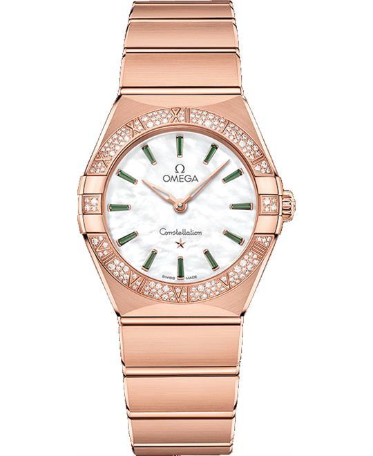 đồng hồ nữ OMEGA CONSTELLATION 131.55.28.60.55.005 MANHATTAN 28MM