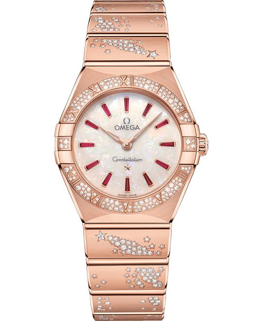 đồng hồ nữ OMEGA CONSTELLATION 131.55.28.60.99.003 MANHATTAN 28