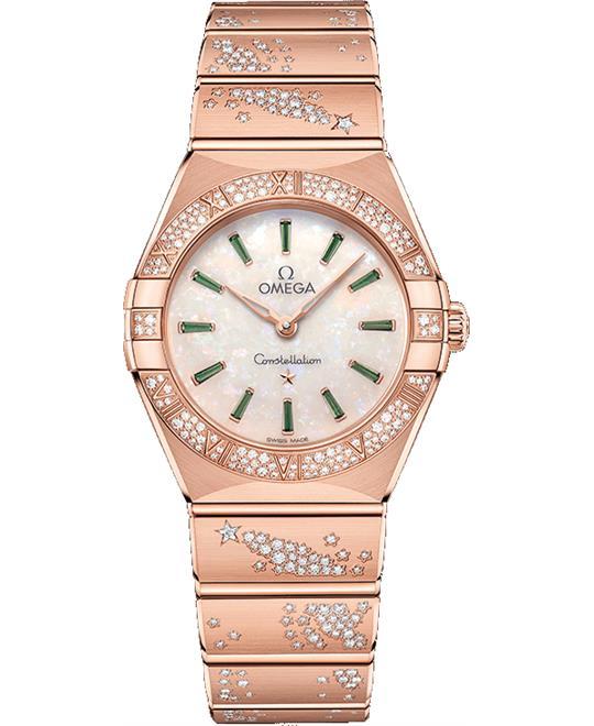 đồng hồ nữ OMEGA CONSTELLATION 131.55.28.60.99.004 MANHATTAN 28mm