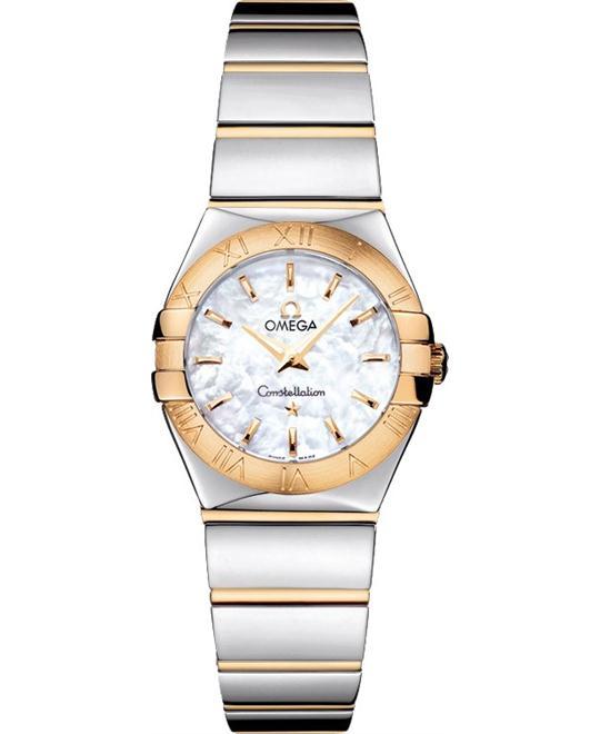 đồng hồ nữ Omega Constellation 123.20.24.60.05.004 Polished 24mm