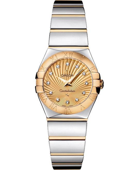đồng hồ nữ Omega Constellation 123.20.24.60.58.002 Polished 24mm