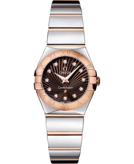 đồng hồ nữ Omega Constellation 123.20.24.60.63.002 Polished 24mm