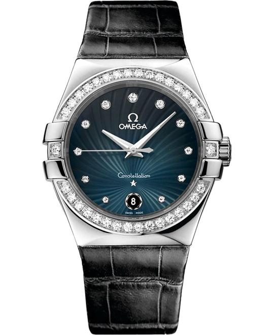 đồng hồ Omega Constellation Quartz 123.18.35.60.56.001 Watch 35mm