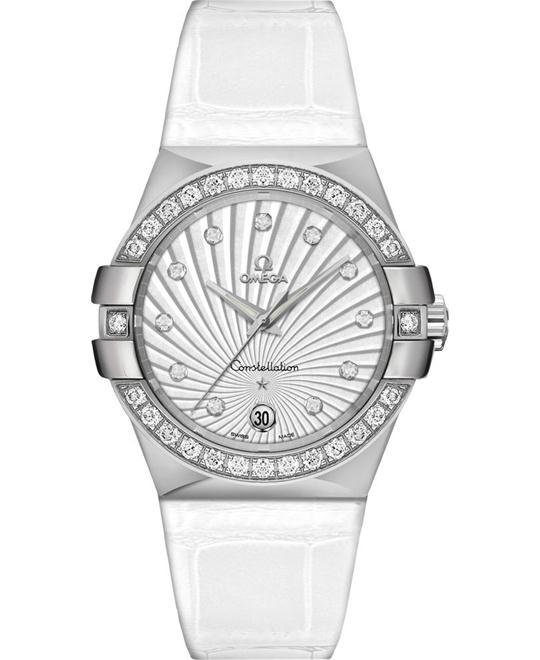 đồng hồ nữ Omega Constellation 123.18.35.60.52.001 Diamond 35mm