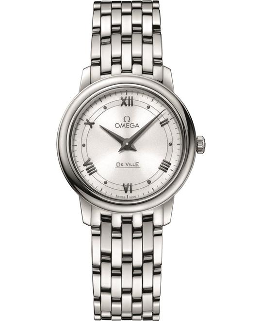 Omega De Ville Prestige 424.10.27.60.04.001 Watch 27.4mm