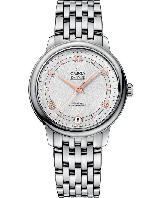 OMEGA De Ville Prestige 424.10.33.20.52.001 Watch 32.7mm