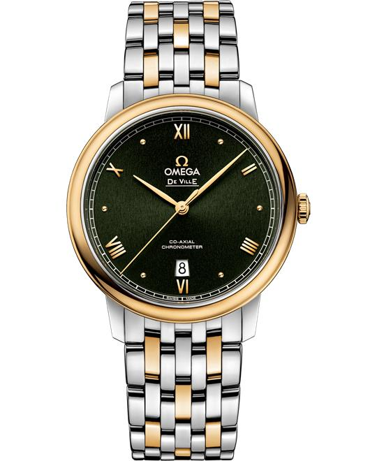đồng hồ mid-century Omega De Ville 424.20.40.20.10.001 Prestige Co‑Axial 39.5 mm