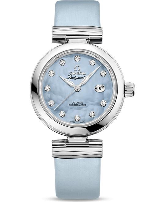 Omega 425.32.34.20.57.003 De Ville Ladymatic Watch 34mm