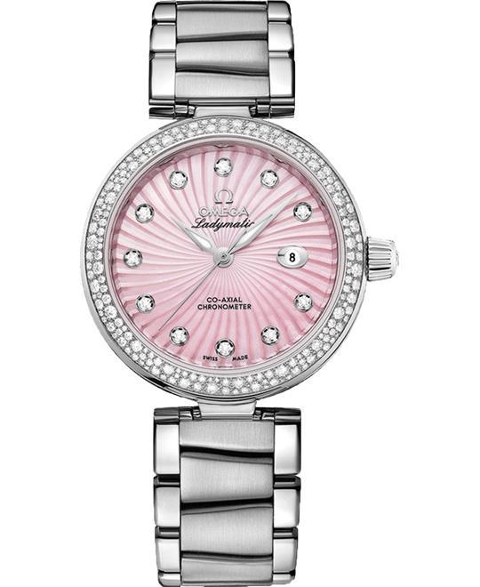 đồng hồ Omega De Ville 425.35.34.20.57.001 Ladymatic Watch 34