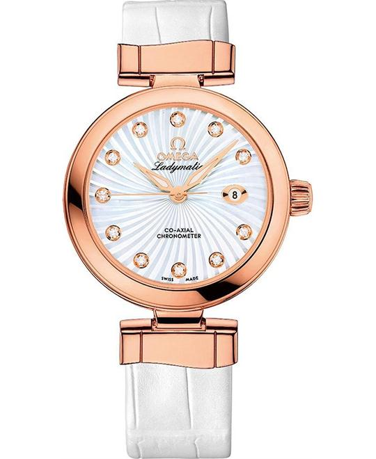 De Ville 425.63.34.20.55.001 Ladymatic Watch 34mm
